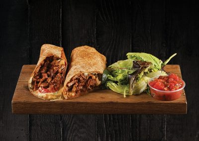 BBQ TURKEY WRAP